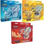 pokemon pokemon boxes and packs articuno zapdos and moltres legendary battle deck set of 3