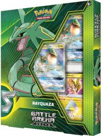 pokemon pokemon boxes and packs battle arena deck rayquaza gx