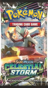 pokemon pokemon boxes and packs celestial storm booster pack