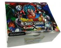 dragonball super card game dragonball super sealed product cross worlds booster box