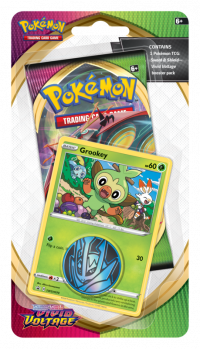 pokemon pokemon boxes and packs pokemon sword shield vivid voltage checklane blister grookey