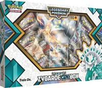 pokemon pokemon boxes and packs shiny zygarde gx box