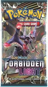 pokemon pokemon boxes and packs sm forbidden light booster pack