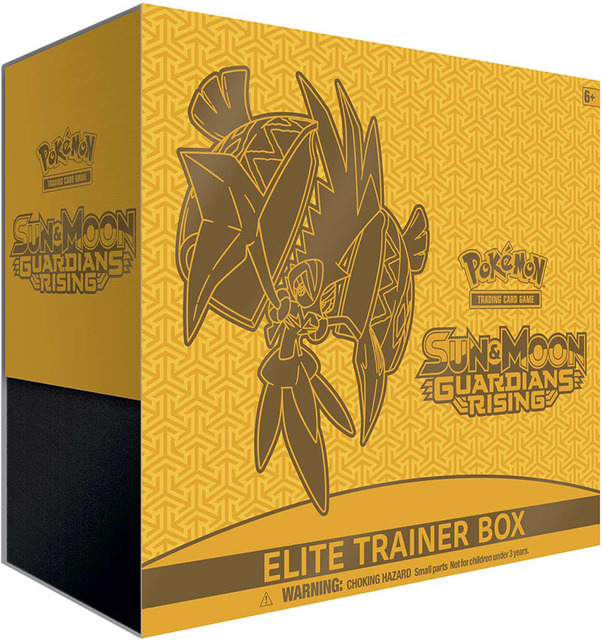 SM Guardians Rising Elite Trainer Box