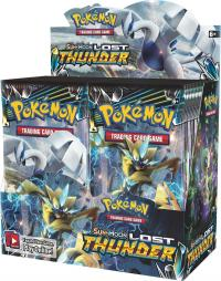 pokemon pokemon boxes and packs sm lost thunder booster box