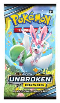 pokemon pokemon boxes and packs sm unbroken bonds booster pack