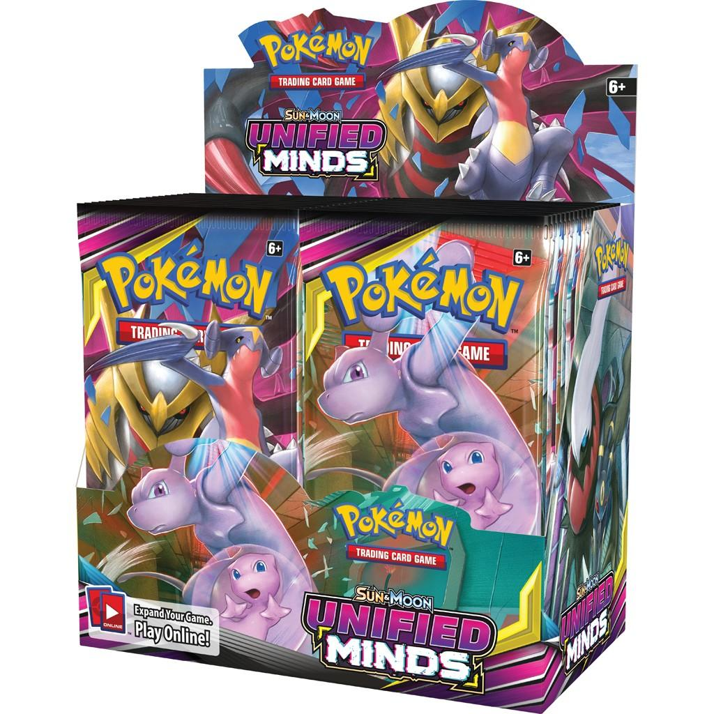 SM Unified Minds Booster Box (PRESALE 8/2)