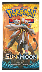 pokemon pokemon boxes and packs sun moon base set booster pack