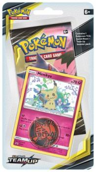 pokemon pokemon boxes and packs sun moon team up checklane blister mimikyu