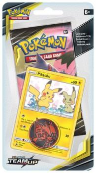 pokemon pokemon boxes and packs sun moon team up checklane blister pikachu