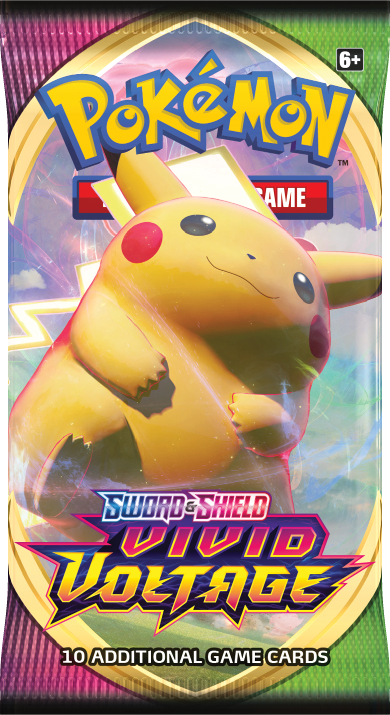 Sword & Shield - Vivid Voltage Pikachu Art Booster