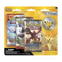 pokemon pokemon boxes and packs zapdos collector s pin 3 pack