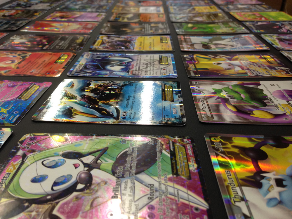 50 Pokemon Card Set with EX and Rares!