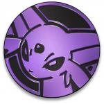 pokemon pokemon pins coins accesories espeon gx collectible coin