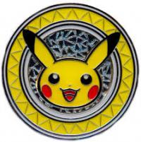 pokemon pokemon pins coins accesories pikachu premium collector s coin