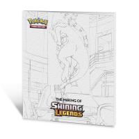 pokemon pokemon pins coins accesories the making of shining legends collector s book