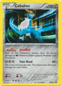 pokemon black white promos cobalion bw72