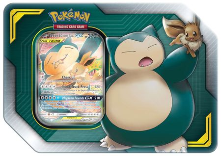2019 Tag Team Eevee & Snorlax Collector's Tin