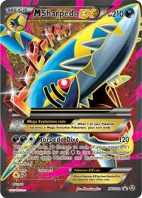 pokemon premium trainer s xy collection m sharpedo xy200a