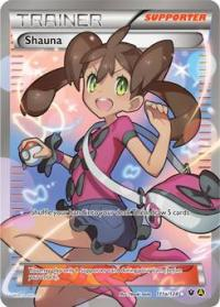 pokemon premium trainer s xy collection shauna 111a 124