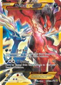 pokemon premium trainer s xy collection yveltal ex xy150a
