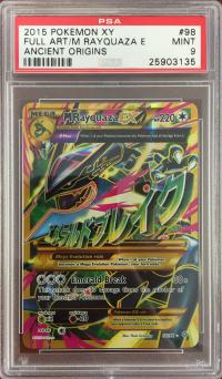pokemon psa graded cards m rayquaza ex 98 98 psa 9