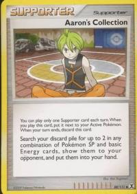 pokemon rising rivals aaron s collection 88 111