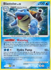 pokemon secret wonders blastoise 2 132