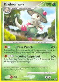 pokemon secret wonders breloom 45 132