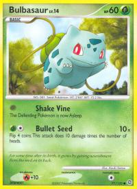 pokemon secret wonders bulbasaur 77 132