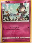 pokemon sm burning shadows ralts 91 147 rh