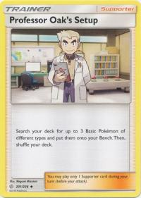 pokemon sm cosmic eclipse professor oak s setup 201 236