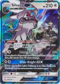 pokemon sm cosmic eclipse silvally gx 184 236