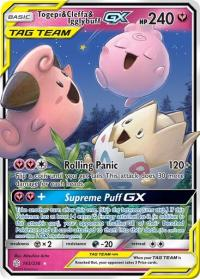 pokemon sm cosmic eclipse togepi cleffa igglybuff gx 143 236