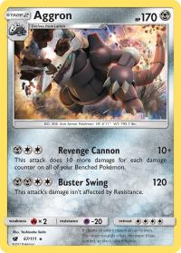 pokemon sm crimson invasion aggron 67 111