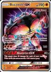 pokemon sm crimson invasion buzzwole gx 57 111