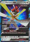 pokemon sm crimson invasion kartana gx 70 111