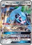 pokemon sm guardians rising metagross gx 85 145