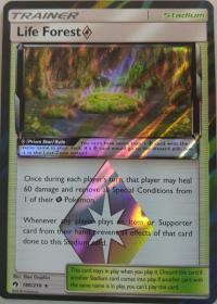 pokemon sm lost thunder life forest 180 214 prism