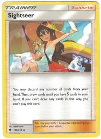 pokemon sm lost thunder sightseer 189 214