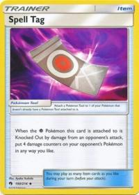 pokemon sm lost thunder spell tag 190 214