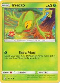 pokemon sm lost thunder treecko 20 214