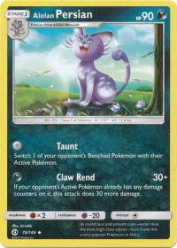 pokemon sm sun moon base set alolan persian 79 149