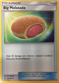 pokemon sm sun moon base set big malasada 114 149 rh