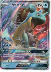 pokemon sm sun moon base set lapras gx 35 149