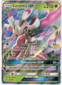 pokemon sm sun moon base set lurantis gx 15 149
