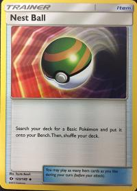 pokemon sm sun moon base set nest ball 123 149