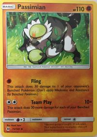 pokemon sm sun moon base set passimian 73 149