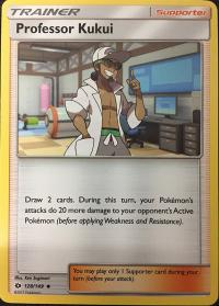 pokemon sm sun moon base set professor kukui 128 149