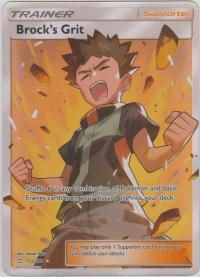 pokemon sm team up brock s grit 172 181 full art